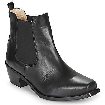 Sapatos Mulher Botins Betty London MERKATO Preto