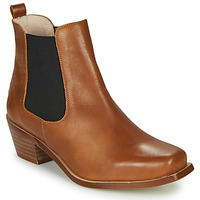 Sapatos Mulher Botins Betty London MERKATO Conhaque
