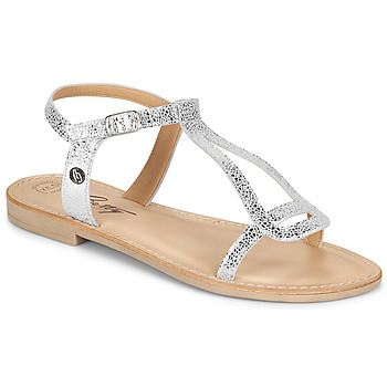 Sapatos Mulher Sandálias Betty London MISSINE Prata