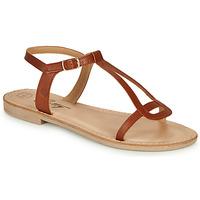 Sapatos Mulher Sandálias Betty London MISSINE Conhaque
