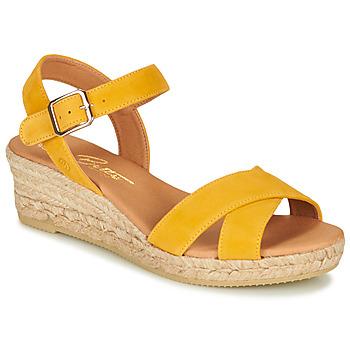 Sapatos Mulher Sandálias Betty London GIORGIA Amarelo