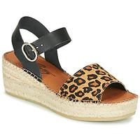 Sapatos Mulher Sandálias Betty London MARILUS Leopardo