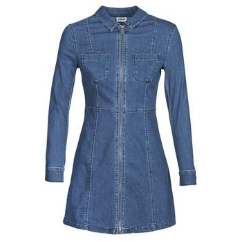 Textil Mulher Vestidos curtos Noisy May NMLISA Azul