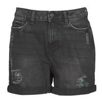 Textil Mulher Shorts / Bermudas Noisy May NMSMILEY Preto