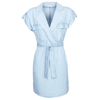 Textil Mulher Vestidos curtos Noisy May NMVERA Azul / Claro