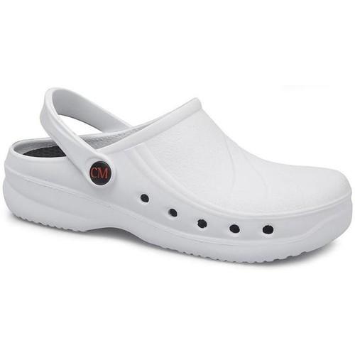 Sapatos Tamancos Calzamedi Tamanco sanitário  extra confortável anatômico 2020 BRANCO