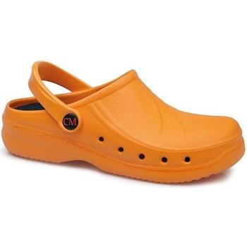Sapatos Tamancos Calzamedi Tamanco sanitário  extra confortável anatômico 2020 LARANJA