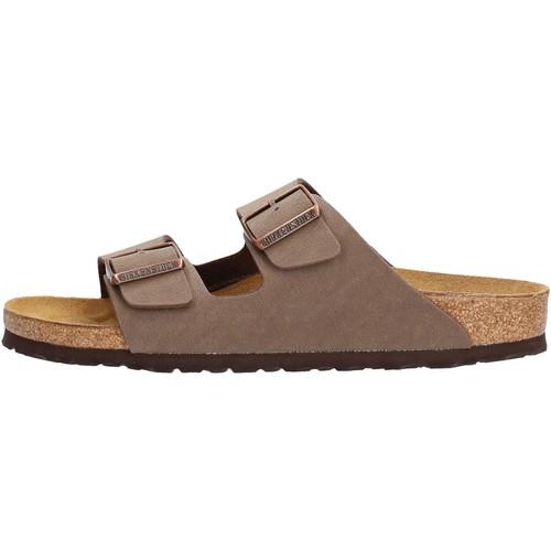 Sapatos Homem Chinelos Birkenstock - Arizona marrone 151183 MARRONE