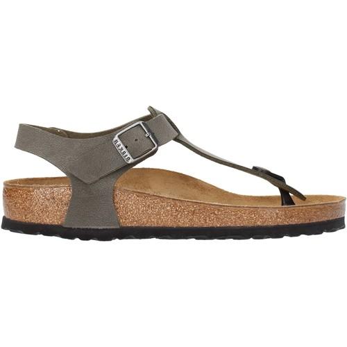 Sapatos Homem Sandálias Birkenstock - Kairo verde militare 147161 VERDE