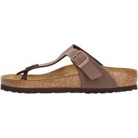 Sapatos Homem Chinelos Birkenstock - Gizeh marrone 043751 MARRONE