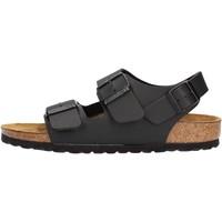 Sapatos Homem Sandálias Birkenstock - Milano nero 034793 NERO