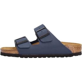 Sapatos Homem Chinelos Birkenstock - Arizona blu 051753 BLU