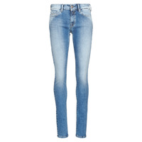 Textil Mulher Gangas Skinny Replay LUZ Azul