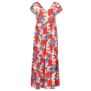 Textil Mulher Vestidos compridos Betty London MALIN Vermelho / Branco / Azul