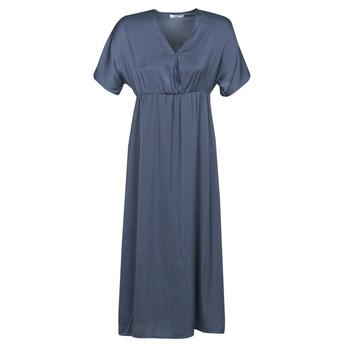 Textil Mulher Vestidos compridos Betty London MOUDA Marinho