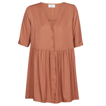 Textil Mulher Vestidos curtos Betty London MOUDENE Castanho
