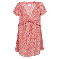 Textil Mulher Vestidos curtos Betty London MARIDOUNE Vermelho