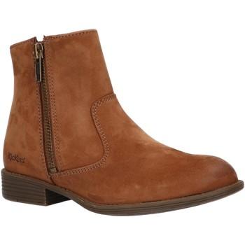 Sapatos Criança Botas baixas Kickers 542761-30 ROX Marr?n