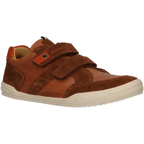 Sapatos Criança Multi-desportos Kickers 741160-30 JAMMI Marrón