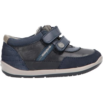 Sapatos Rapaz Sapatilhas de cano-alto Mayoral 42050 R1 Azul
