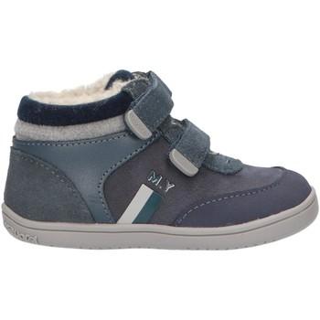 Sapatos Rapaz Sapatilhas de cano-alto Mayoral 42066 Azul