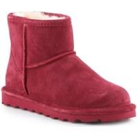Sapatos Mulher Botas de neve Bearpaw Alyssa Bordô