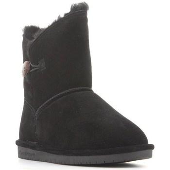 Sapatos Mulher Botas de neve Bearpaw Rosie Preto