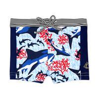 Textil Rapaz Fatos e shorts de banho Petit Bateau FEUILLAGE Multicolor