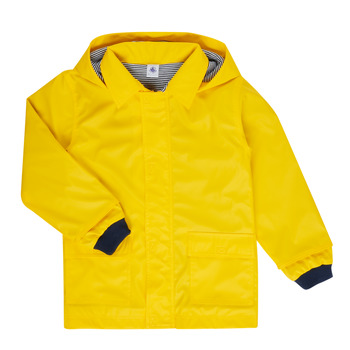 Textil Criança Parkas Petit Bateau FATAH Amarelo