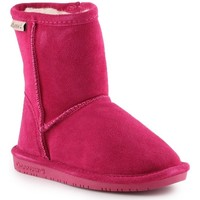 Sapatos Rapariga Botas de neve Bearpaw Emma Toddler Zipper 608TZ-671 Pom Berry pink