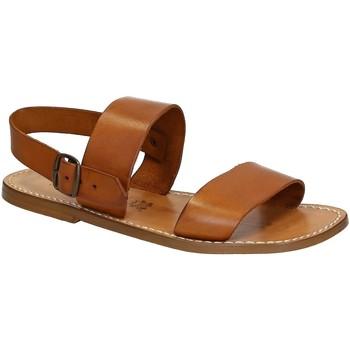 Sapatos Homem Sandálias Gianluca - L'artigiano Del Cuoio 500 U CUOIO CUOIO Cuoio