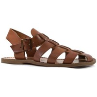 Sapatos Homem Sandálias Gianluca - L'artigiano Del Cuoio 502 U CUOIO CUOIO Cuoio