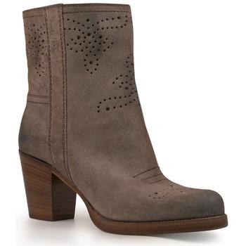 Sapatos Mulher Botins Car Shoe KDT63H 0B2 F0308 Antracite