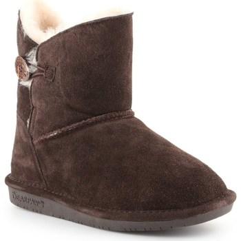 Sapatos Mulher Botas de neve Bearpaw Rosie Castanho