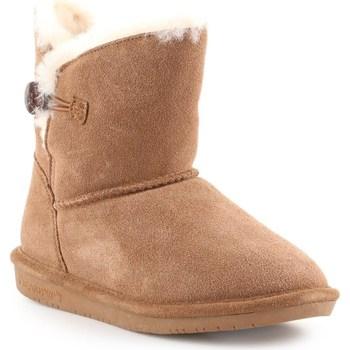 Sapatos Mulher Botas de neve Bearpaw Rosie Hickory II Castanho