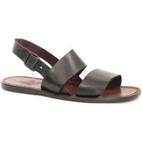 Sapatos Mulher Sandálias Gianluca - L'artigiano Del Cuoio 500X U MORO CUOIO Testa di Moro
