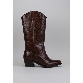 Sapatos Homem Botas baixas Lol 6660-11 Castanho