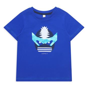 Textil Rapariga T-Shirt mangas curtas Esprit ENORA Azul