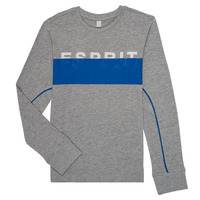 Textil Rapaz T-shirt mangas compridas Esprit FABIOLA Cinza