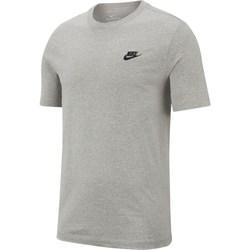 Textil Homem T-Shirt mangas curtas Nike Nsw Club Tee Cinzento