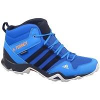 Sapatos Criança Sapatos de caminhada adidas Originals Terrex AX2R Mid CP Cor azul-turquesa,Azul