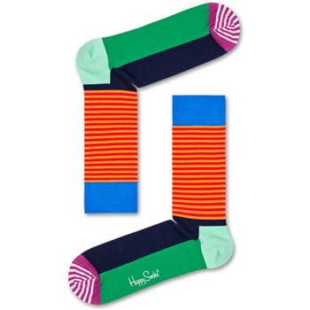Acessórios Meias Happy Socks Christmas cracker holly gift box Multicolor