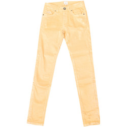 Textil Mulher Calças Jeans La Martina Pantalón Stretch Amarelo