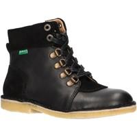 Sapatos Criança Botas baixas Kickers 736370-30 KICK HOOD Negro