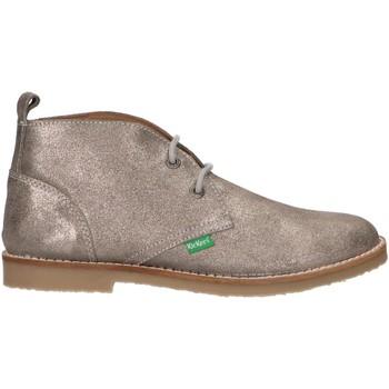 Sapatos Criança Botas baixas Kickers 736421-30 TYZ Plateado