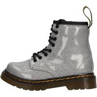 Sapatos Criança Botas baixas Dr Martens - Anfibio argento 1460 GLITTER ARGENTO