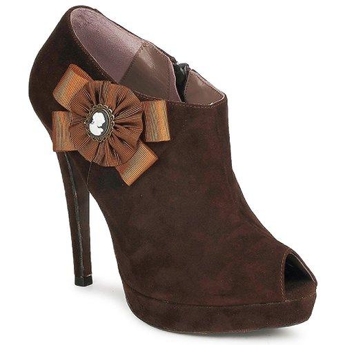 Sapatos Mulher Botas baixas Fericelli ASSETE Castanho