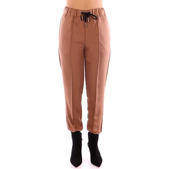 Textil Mulher Chinos Twin Set 2203 marrom