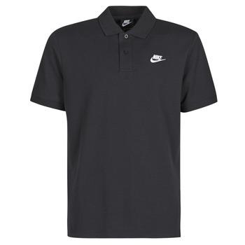 Textil Homem Polos mangas curta Nike M NSW CE POLO MATCHUP PQ Preto / Branco