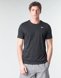 Textil Homem T-Shirt mangas curtas Nike M NK DRY TEE DFC CREW SOLID Preto / Branco